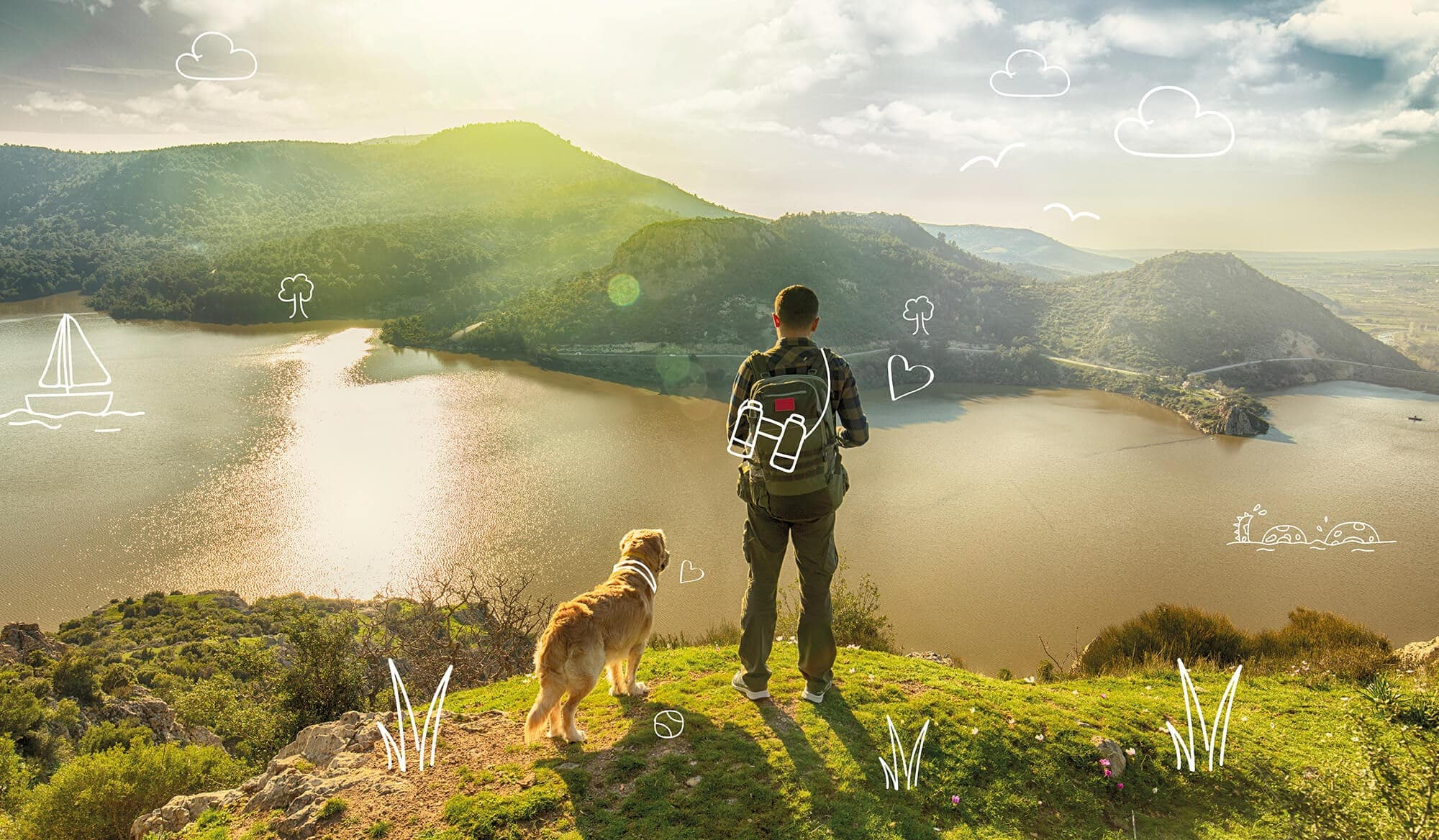 An adventure with your dog! Dog walks in England