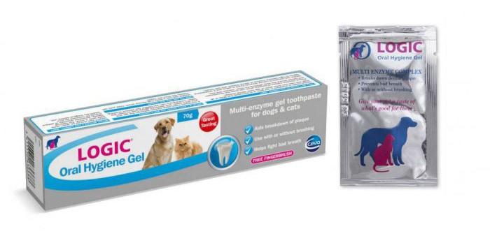 logic oral hygiene gel for cat dental health