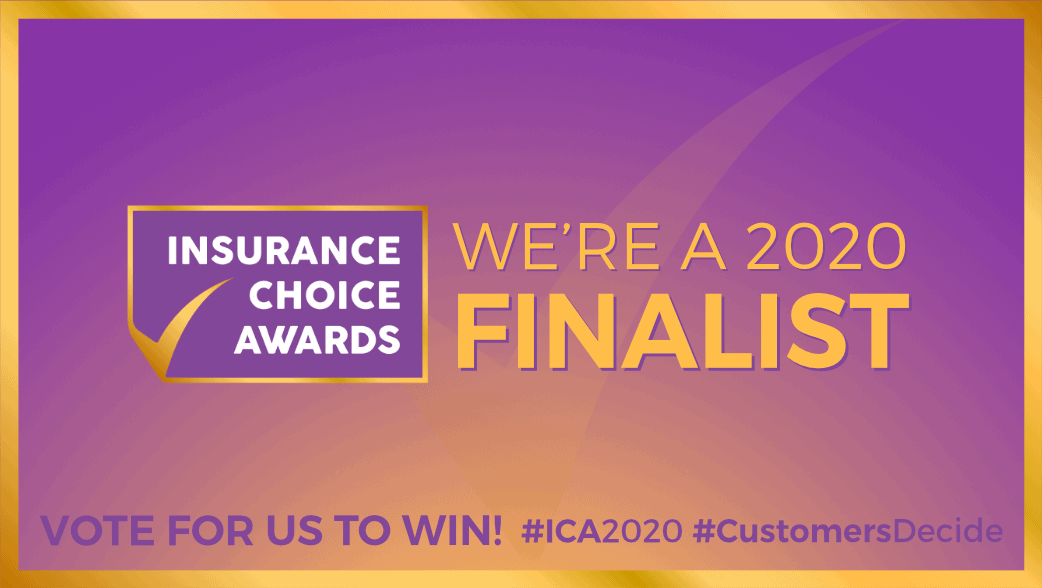 MiPet Cover are a finalist in the Insurance Choice Awards 2020 - Vote for us now!