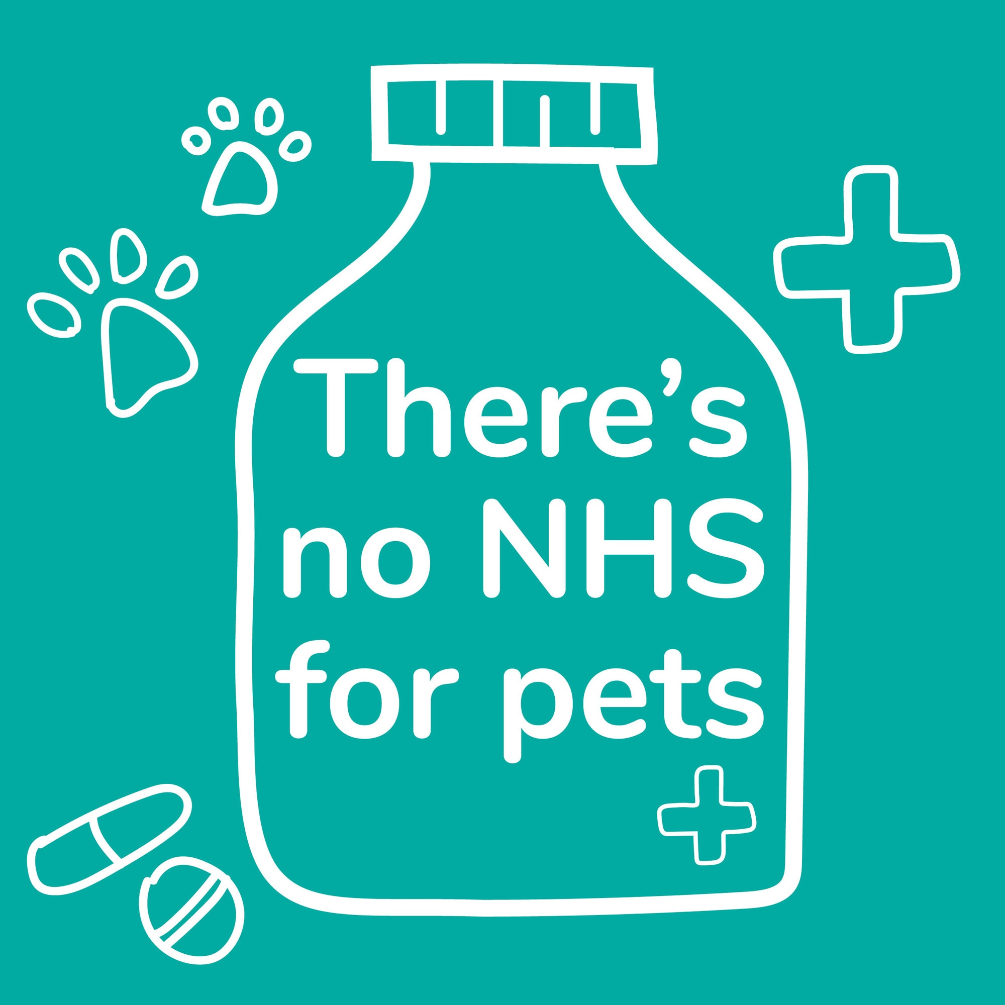 There's no NHS for pets. Pet insurance from MiPet Cover. Let's get #morepetsinsured